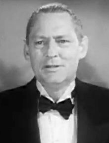 Lionel Barrymore en 1935 en a cinta David Copperfield.