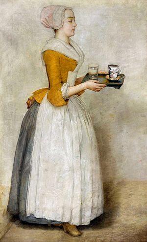 The Chocolate Girl - Image: Liotard Chocolate girl