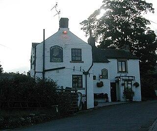 Little Hucklow Human settlement in England