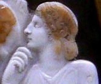 Drusus Julius Caesar - Great Cameo of France possibly depicting Livilla.