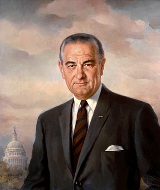 Richard Helms - White House portrait of Lyndon B. Johnson