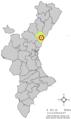 Localització de la Vilavella respecte del País Valencià.png