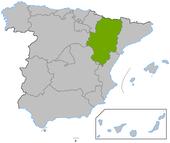 Aragón en España