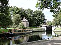Lock on The Grand Union Canal at Hanwell - panoramio.jpg