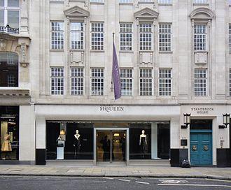 Alexander McQueen - McQueen boutique in London (2013)