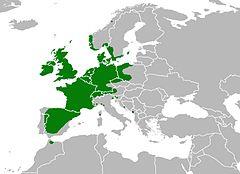 Wiciokrzew pomorski: zasięg występowania na mapie
