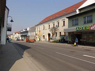 Loosdorf - The town hall of Loosdorf