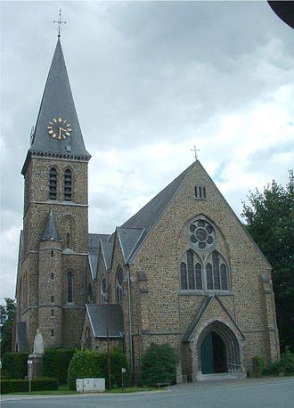 Lot, Belgium - Parochiekerk Sint-Jozef
