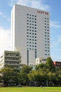 Lotte City Hotel Kinshicho 20140928-001.jpg