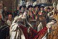 Louis david, consacrazione di napoleone I (incoronaz. dell'imp. giuseppina nella cattedrale di notre-dame, 2-12-1804), 1806-07, 04.jpg