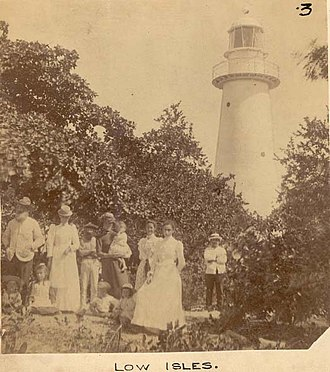 Low Isles Light - An historical view of the lighthouse