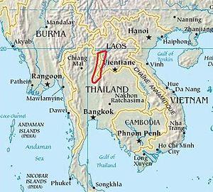 Luang Prabang Range - Image: Luang Prabang Range Southeast asia