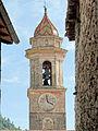 Lucéram - Église Sainte-Marguerite - Clocher.JPG