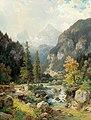 Ludwig Sckell - Scene near Berchtesgaden with Watzmann.jpg