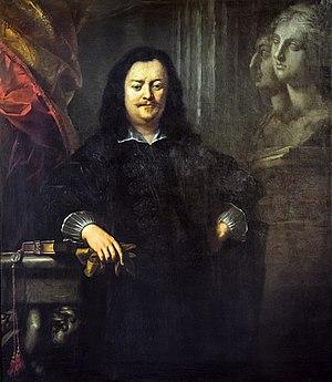 Tiberio Tinelli -  Portrait of Luigi Moli Gallerie dell'Accademia in Venice.