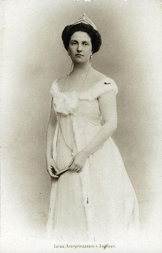 Archduchess Louise of Austria - Luise of Tuscany (late 1890s)
