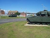 Lulworth Camp , Tanks and Entrance - geograph.org.uk - 1119752.jpg