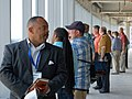 Lunch discussions atop NASCAR tower (3642326882).jpg