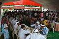 Lunching Bhaktas - Rawatpura Sarkar Ashram - Chitrakoot - Satna 2014-07-05 6449.JPG