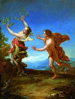 Luti Apollo and Daphne