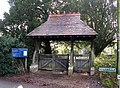 Lych gate to churchyard of All Saints - geograph.org.uk - 1070146.jpg