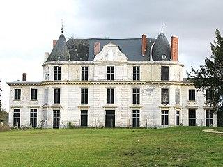 Château de Méréville castle in Méréville, France