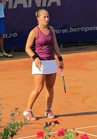 Mădălina Gojnea at the 2011 BCR Open Romania Ladies.jpg