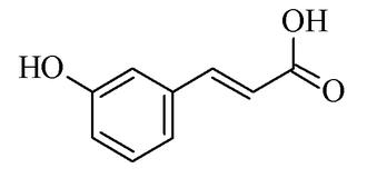 M-Coumaric acid - Image: M coumaric acid
