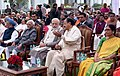 M. Venkaiah Naidu, the Prime Minister, Shri Narendra Modi, the former Vice President, Shri M. Hamid Ansari and the former Prime Minister, Dr. Manmohan Singh at Vice President House during Sankranthi Celebrations, in New Delhi.jpg