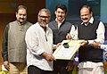 M. Venkaiah Naidu presenting the Amateur Photographer of the Year to Shri Ravinder Kumar, at the 6th National Photography Awards Ceremony, in New Delhi.jpg