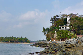 Mahé, Puducherry - Image: MAHE LIGHT HOUSE