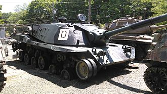 MBT-70 - MBT-70 at Danbury, Connecticut