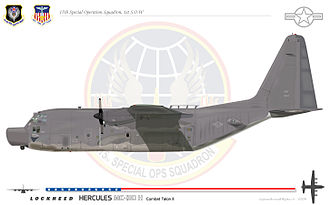 15th Special Operations Squadron - MC130H