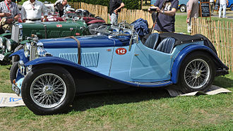 MG N-type - MG ND Magnette