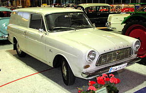 Ford Taunus P4 - The station wagon also provided the basis for a sedan delivery.