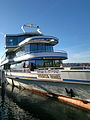 MS Panta Rhei der Zürichsee-Schifffahrtsgesellschaft an der Schifflände in Rapperswil 2012-10-30 15-14-34 (N8).jpg