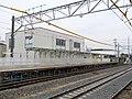 MT-Ajiyoshi Station-Platform (temporary) 3.jpg