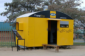 MTN Group - MTN mobile shop in South Africa