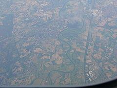 aerial photo of Maaseik