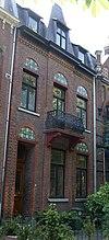 foto van Herenhuis, gebouwd in opdracht van J. Dirksen.