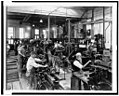 Machine shop in the Government Printing Office, Washington, D.C.) - The Commercial Photo Co., Washington, D.C LCCN93510968.jpg