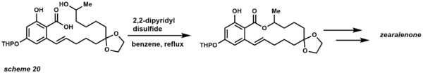 macrolactonization total synthesis example