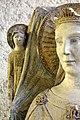 Maestro di sant'anastasia, santa caterina d'alessandria, 1300-50 ca., da santa caterina a vr 02 angelo.jpg