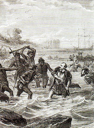 History of the Philippines (1521–1898) - Battle of Mactan