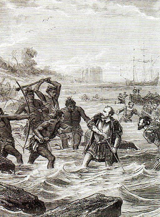 Magellans death