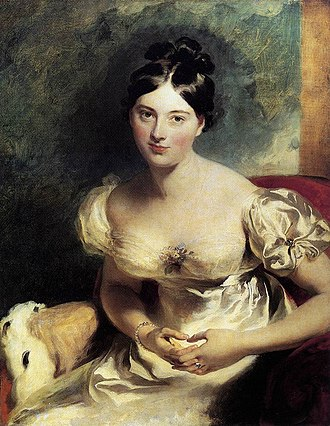 Walter Savage Landor - Marguerite, Countess of Blessington. Painted by Thomas Lawrence in 1822.