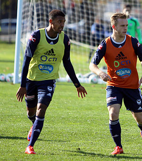 Rashid Mahazi Kenyan-Australian soccer player