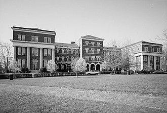 Montevallo, Alabama - Main Hall, Montevallo