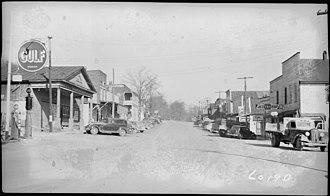 Kuttawa, Kentucky - Kuttawa in 1939