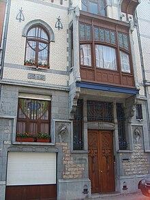 Art nouveau en belgique wikip dia for Art maison la thuile